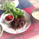 【無添加】ふんわり♡豆腐ハンバーグ&きのこソース
