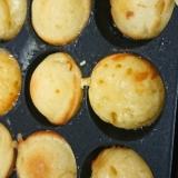 たこ焼き器deホットケーキミックスのホットケーキ風