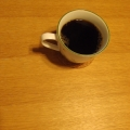 白桃コンポートinコーヒー