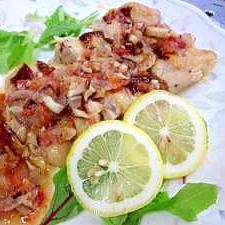 2段調理☆鶏の酒蒸しをクックシートでパリパリ焼き