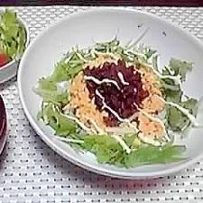 我が家の簡単3色丼~カフェ風~♪