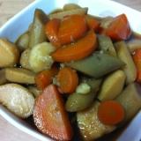 里芋とゴボウの煮物