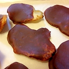 最大限低糖質なキクイモチョコチップス♪(糖質制限)