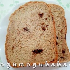 HBで作る☆ピーナッツチョコパン