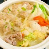 ★鍋★白菜&肉団子の濃厚白湯