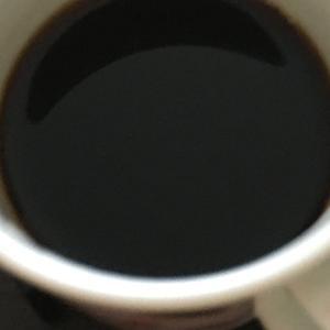 塩蜜入りコーヒー
