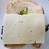 簡単チーズレタスサンド