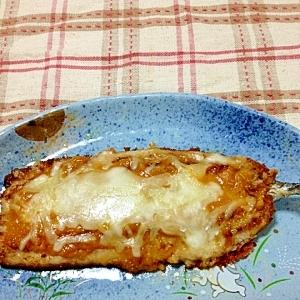 サンマの味噌チーズ焼き♪