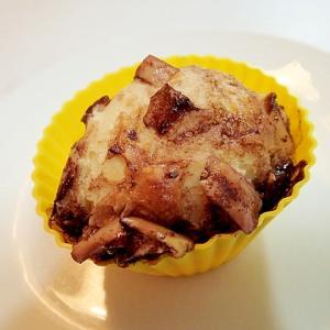 林檎のチョコカップケーキ
