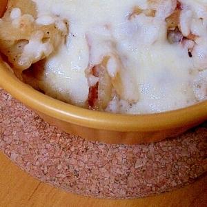 小麦粉いらず♪ポテトグラタン風?チーズ焼き