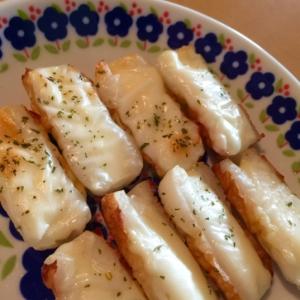 お弁当に♪ちくわのチーズ焼き