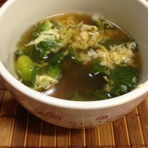 栄養たっぷりのプチベールで中華スープ