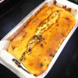 簡単お菓子☆ヨーグルト&チョコバナナパウンドケーキ