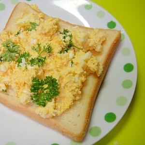 おからタルタルとパセリのトースト