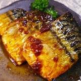超簡単、鯖のケチャップウスター焼き