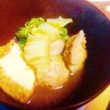 サトイモと厚揚げの煮物