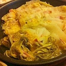 スープまで完食!白菜と豚肉の重ね煮