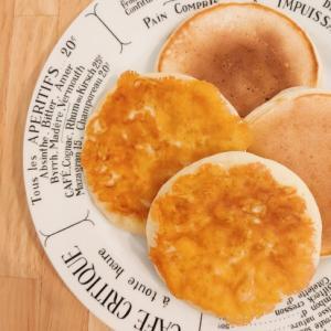 カリカリ☆チーズパンケーキ