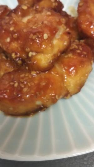 鶏肉のスイートチリ炒め