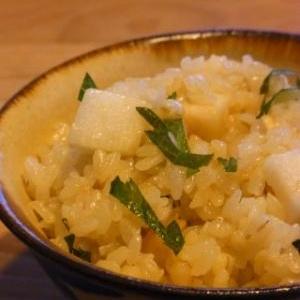 長芋とバターのほっくり混ぜご飯