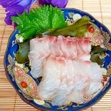 簡単!ねっとり美味しい☆鯛の昆布締め