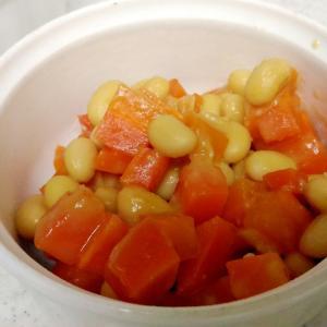 大豆と人参の生姜味噌煮