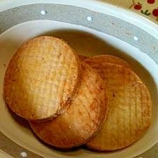かぼちゃ入り☆玄米粉のメープルクッキー