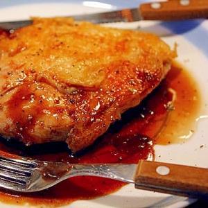 鶏の赤ワイン焼肉ソース