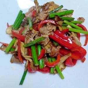 豚肉と彩野菜の炒め物
