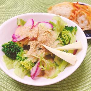 香味濃厚ごまだれꕤ野菜サラダ