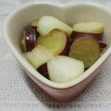 ♥さつま芋とりんごのレモン煮♥
