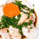 秋の味覚!鮭の白子ポン酢