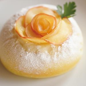 りんごなの?バラなの?美しすぎるローズアップルパン