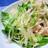 ささみともやしの中華サラダ