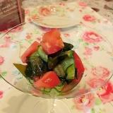 簡単☆夏野菜の酢の物♪