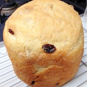 【ホームベーカリー】HBおからレーズン食パン