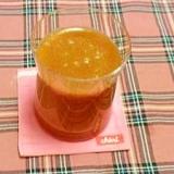 にんじんと大葉入りのトマトジュース