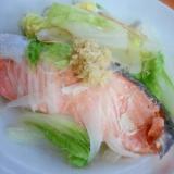 レンジで時短★鮭の白菜蒸し
