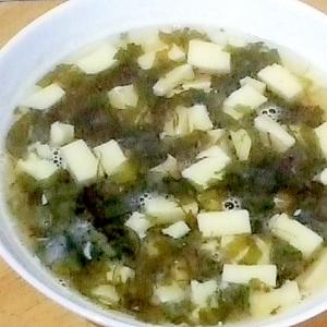 ご飯のお供でスープ?! 即席野沢菜昆布スープ