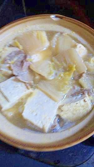 アツアツ!肉豆腐鍋