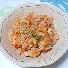 炊飯器で!ケチャップライス++