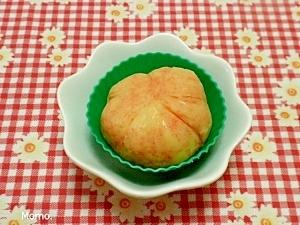 ジャガイモの明太マヨ茶巾