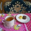 蜂蜜紅茶&お気に入り和菓子♥️至福カフェセット♥️