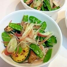 しっかりビタミン補給☆夏野菜で冷しゃぶ
