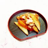 梨と豚小間の生姜焼き