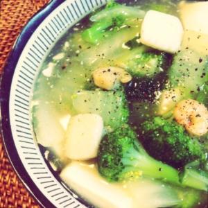 白菜と豆腐の中華風うま煮