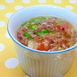 【離乳食】牛ミンチ&白菜のオイスター炒め風