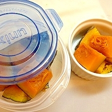 冷凍保存OK!簡単かぼちゃの煮物