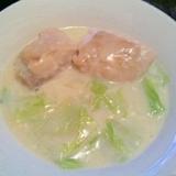 *鶏肉と白菜のクリーム煮*