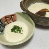 土鍋で簡単!手作りおぼろ豆腐